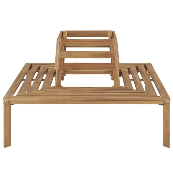 Mcmorris Wooden Tree Bench by East Urban Home