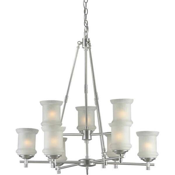 Vanzandt 9 - Light Shaded Tiered Chandelier by Winston Porter Winston Porter