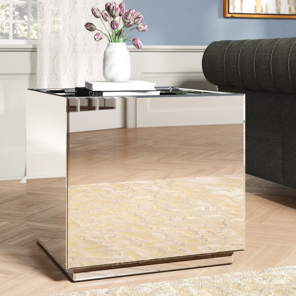 Compare Price Kelvin Crystal End Table