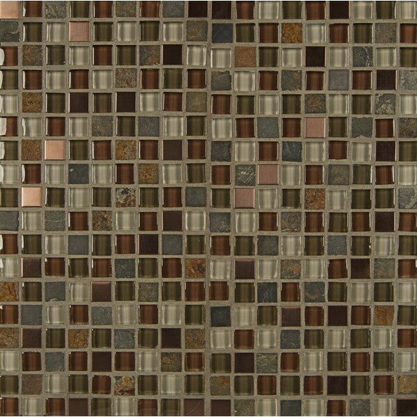Queenstown 12 x 12 Stone Mosaic Tile in Alexandra by Grayson Martin