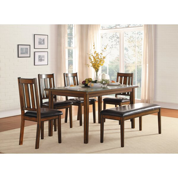 Chet 6 Piece Dining Set By Millwood Pines Amazing