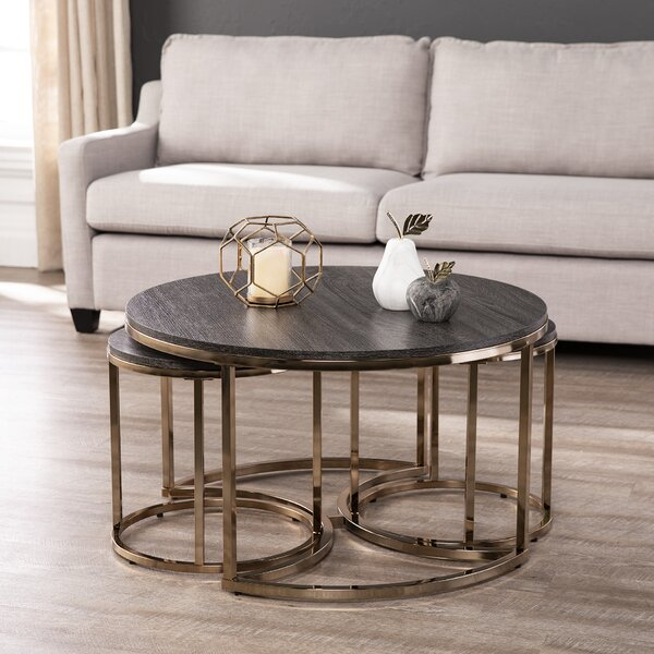 Sleaford 3 Piece Nesting Tables By Everly Quinn