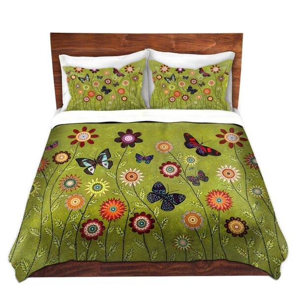 Bohemian Butterflies Duvet Cover Set