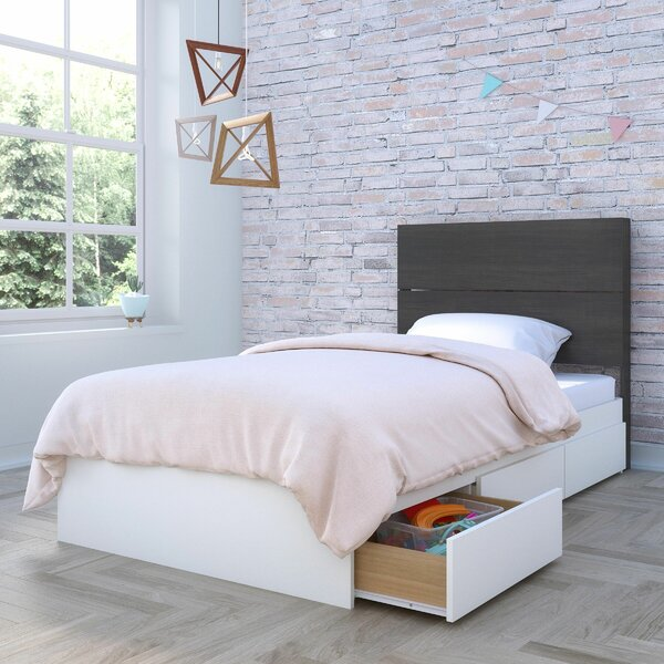 Omer Storage Platform Bed by Ebern Designs