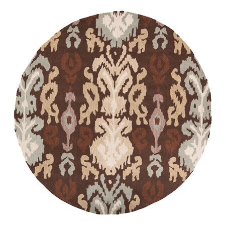 Aime Hot Cocoa Area Rug by Bloomsbury Market