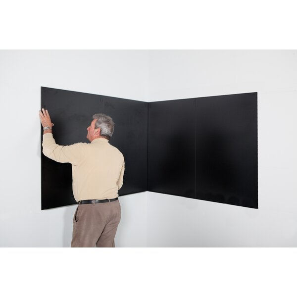 Rocada Skin Wall Mounted Magnetic Chalkboard by Paperflow