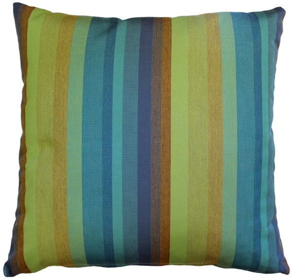 Cheryton Lagoon Indoor/Outdoor Sunbrella Throw Pillow by Red Barrel Studio