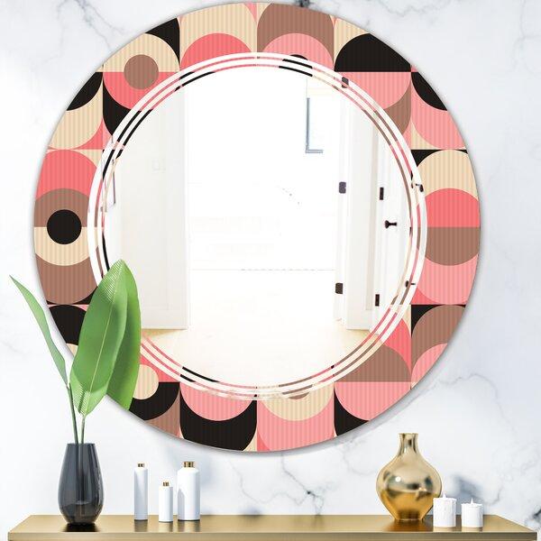 Triple C Geometric Design XI Modern Wall Mirror