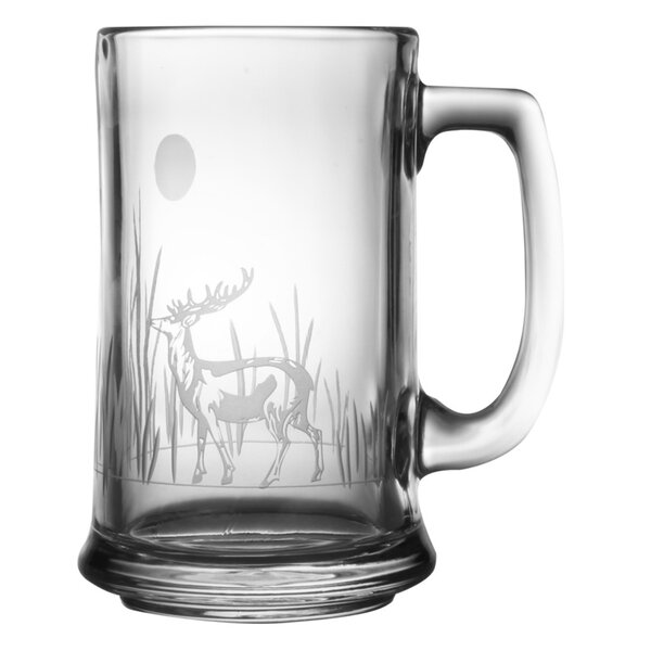 Deer 15 oz. Beer Mug (Set of 4) by Rolf Glass