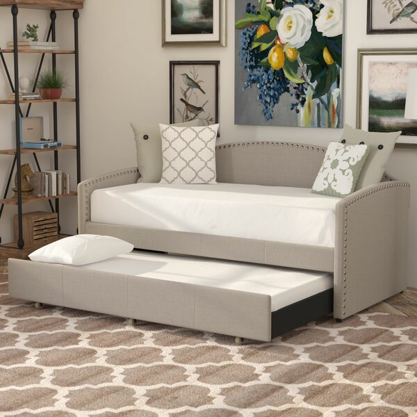 Ronce Twin Daybed With Trundle by Lark Manor