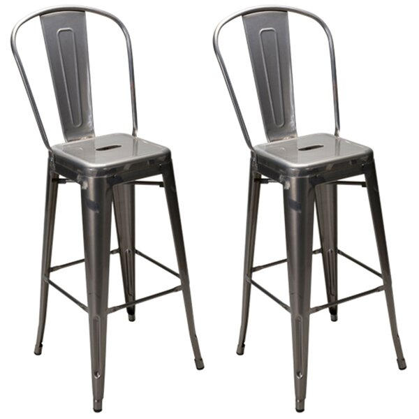 Dunamoy 30 Bar Stool (Set of 2) by Gracie Oaks