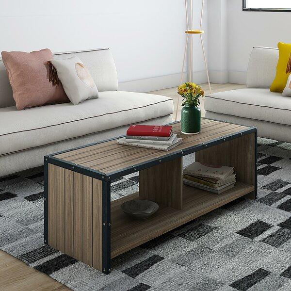 Ashland Coffee Table with Magazine Rack by Trent Austin Design Trent Austin Design