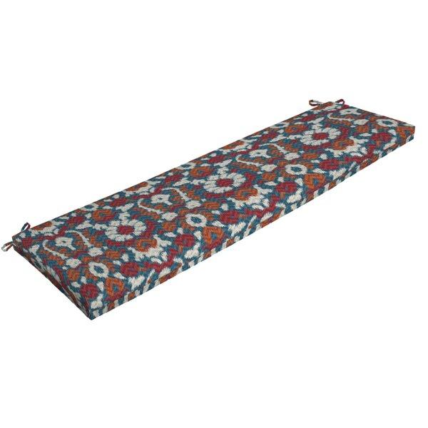 Ikat Outdoor Bench Cushion