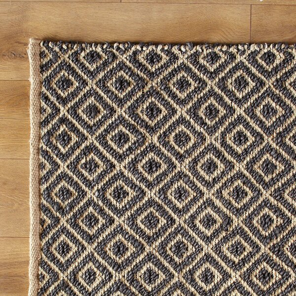 Diamonds in the Sky Hand-Woven Blue Navy Area Rug by Birch Lane Kids™