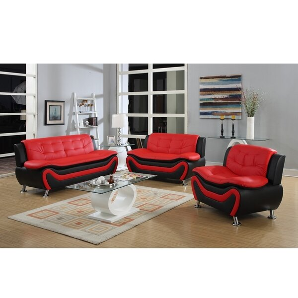 Roselia 3 Piece Living Room Set by PDAE Inc.