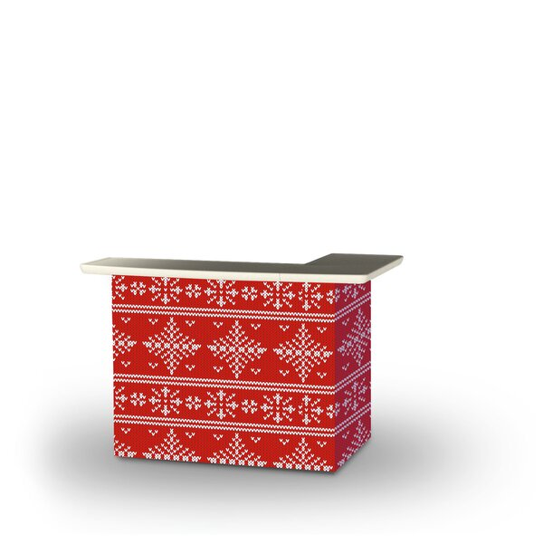 Wylo Ugly Christmas Sweater Home Bar by East Urban Home
