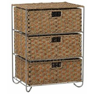 Palmisano 3-Drawer Storage Chest ByBloomsbury Market