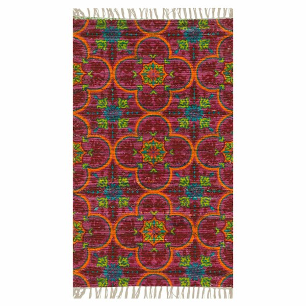Zabel Berry Area Rug by Bloomsbury Market