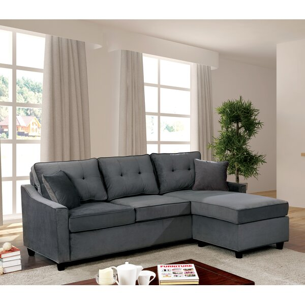 Arguelles Left Hand Facing Modular Sectional By Alcott Hill