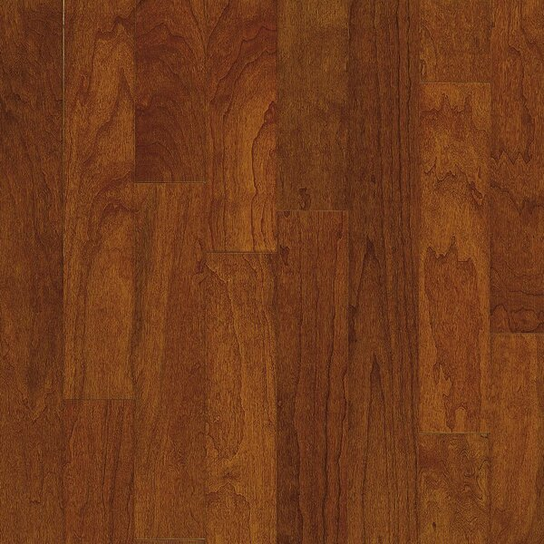 Turlington 3 Engineered Cherry Hardwood Flooring in Bronze by Bruce Flooring
