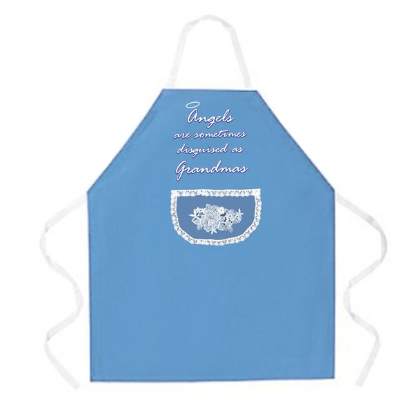 Angels as Grandmas Apron by Attitude Aprons by L.A. Imprints
