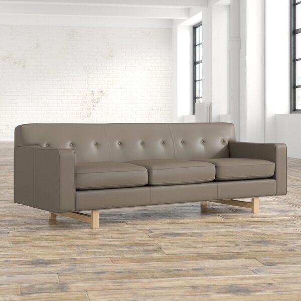 Winter Shop Lomonaco Leather Sofa Hot Bargains! 65% OffHot Bargains! 70% Off