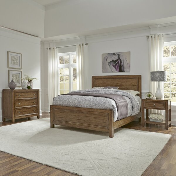 New Design Milford Standard 3 Piece Bedroom Set By Canora Grey Spacial Price