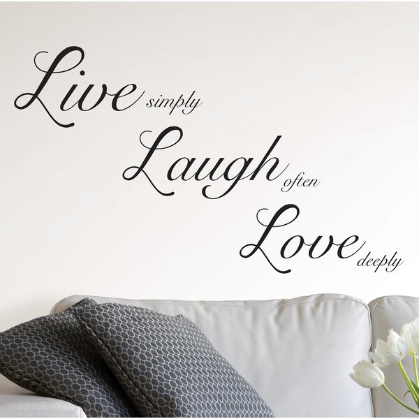 """LIVE LAUGH LOVE Wall Art Decal Vinyl Quote Saying 60/"""""""