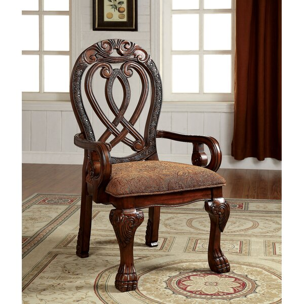 Dolores Formal Dining Arm Chair (Set of 2) by Hokku Designs