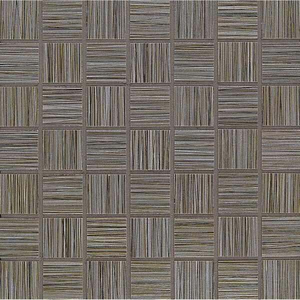 Refine 1.5 x 1.5 Porcelain Mosaic Tile in Pinstripe by Grayson Martin