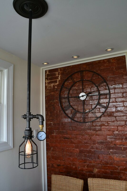 West Ninth Vintage Industrial 1 Light Foyer Pendant