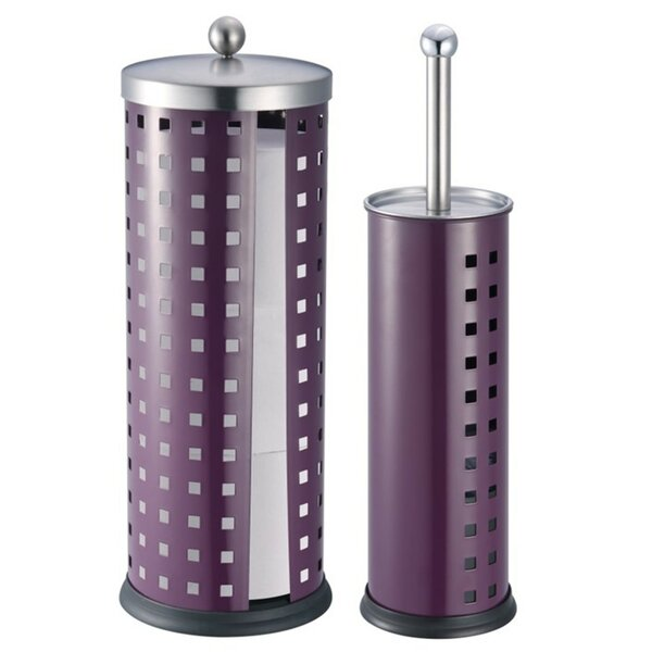 2 Piece Free Standing Toilet Brush Set by Hopeful Enterprise2 Piece Free Standing Toilet Brush Set by Hopeful Enterprise