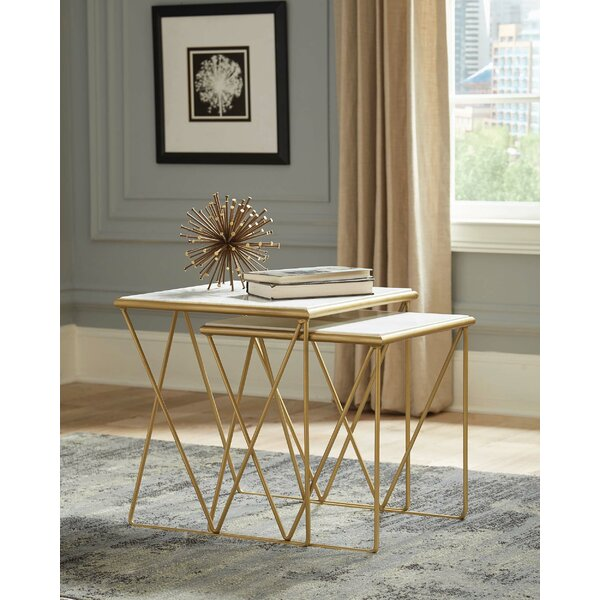 Tioga 2 Piece Nesting Tables by Mercer41