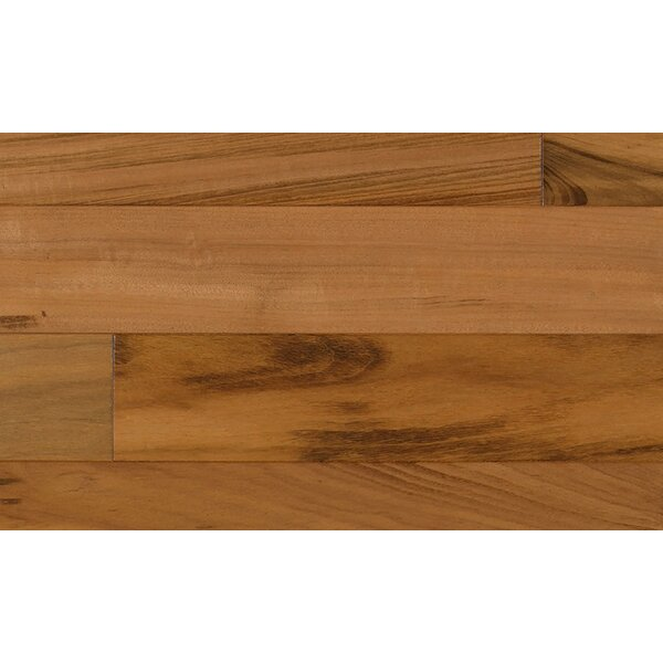 6-1/4 Engineered Tigerwood Hardwood Flooring in Red by IndusParquet