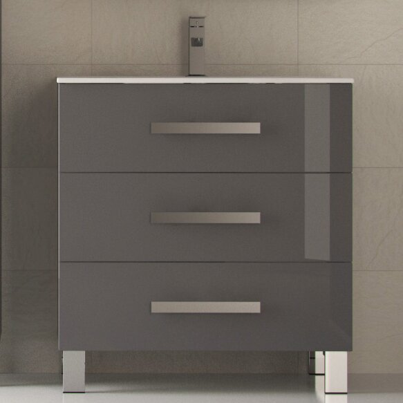 Carys 32 Single Bathroom Vanity Set by Orren Ellis