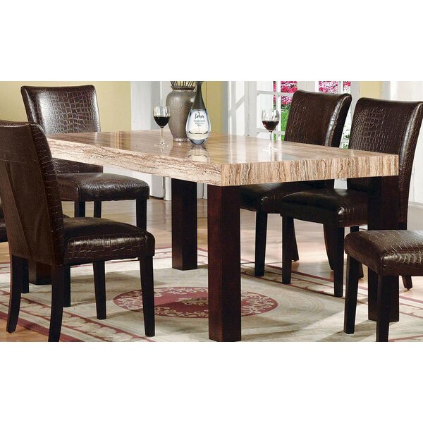 Zamora Dining Table by Fleur De Lis Living