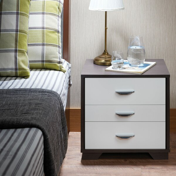 Clevenger 3 Drawer Nightstand by House of Hampton