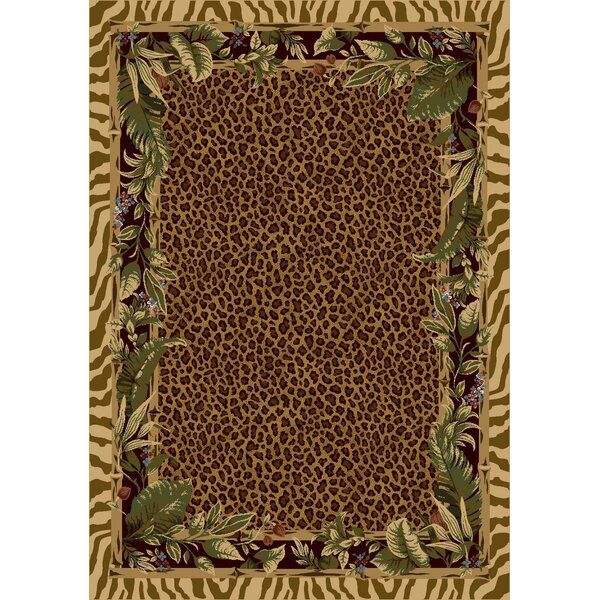 Signature Jungle Safari Pale Topaz Area Rug by Milliken