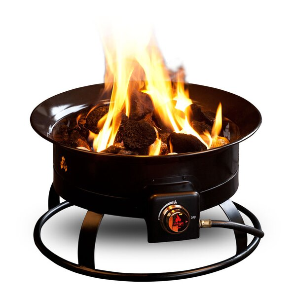 Deluxe Steel Propane Fire Pit by Outland Living