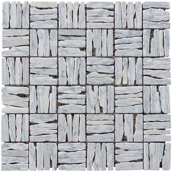 Landscape Wonder 12 x 12 Alternate Granite Mosaic Tile in Gray by Intrend Tile