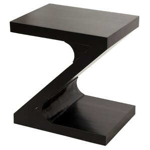 Z Hand-Rubbed End Table by Noir