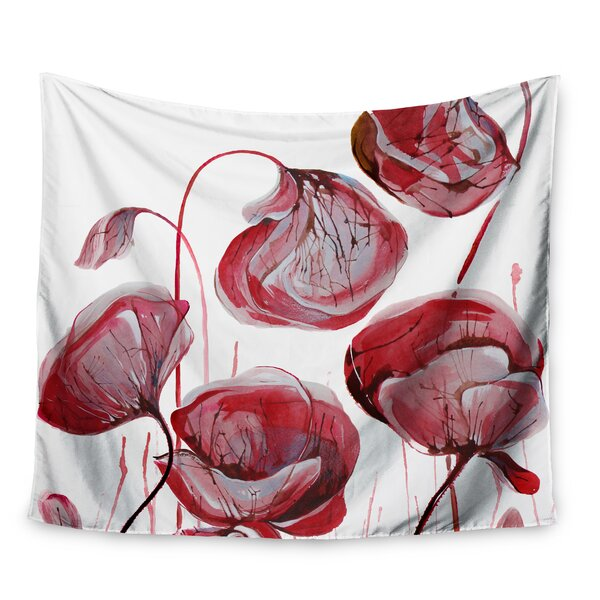 Poppies by Ivan Joh Wall Tapestry by East Urban Home