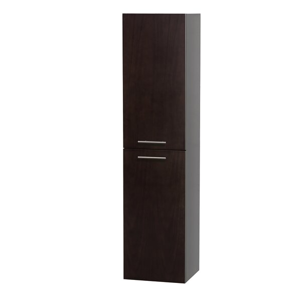 Bailey 13.75 W x 56 H Wall Mounted Cabinet by Wyndham Collection