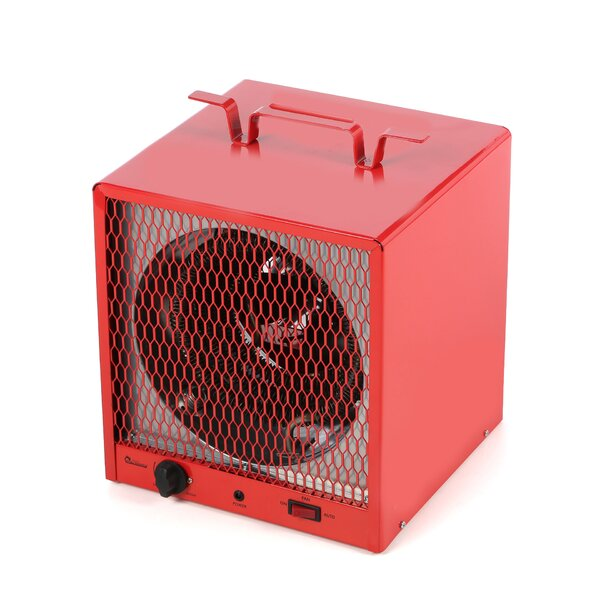 Industrial Heater 19,110 BTU Portable Electric Fan Utility Heater With Adjustable Thermostat By Dr. Infrared Heater