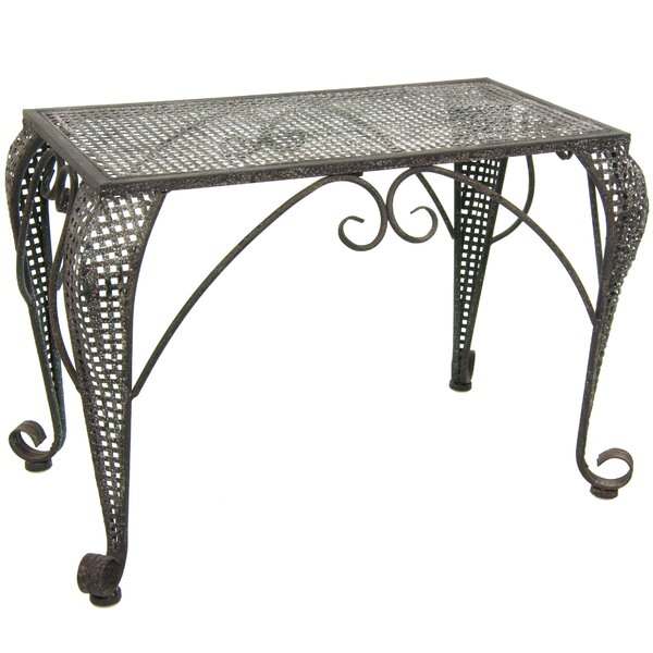 Wrought Iron Garden Table by Oriental Furniture