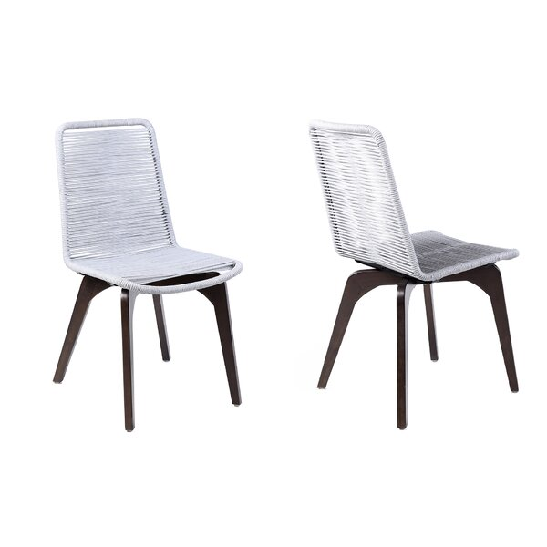 Betsy Patio Dining Chair (Set of 2) by Rosecliff Heights