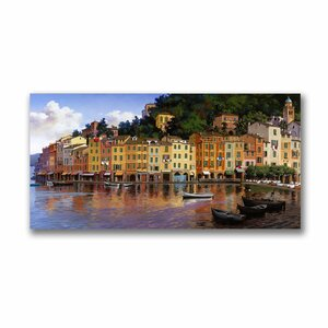 Portofino by Hava Painting Print on Canvas by Trademark Fine Art