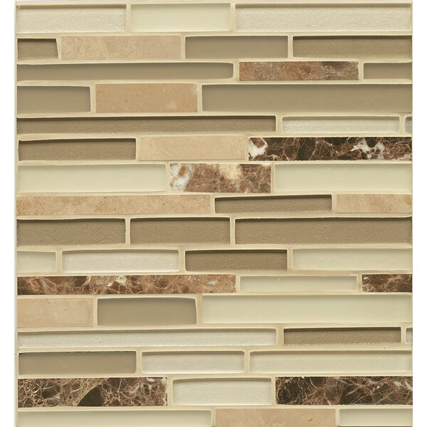 Remy Glass Random Sized Glass Mosaic Tile in Townsend by Grayson Martin