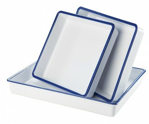 Melamine Deep Platter by Cal-Mil