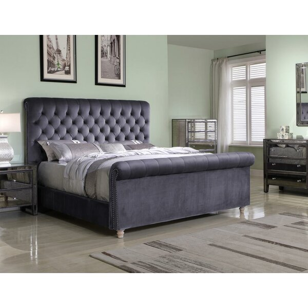 Johana Upholstered Standard Bed by Rosdorf Park
